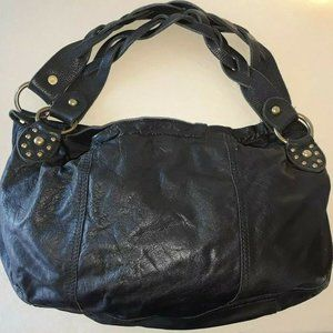 LUCKY BRAND Black Purse Leather Shoulder Bag